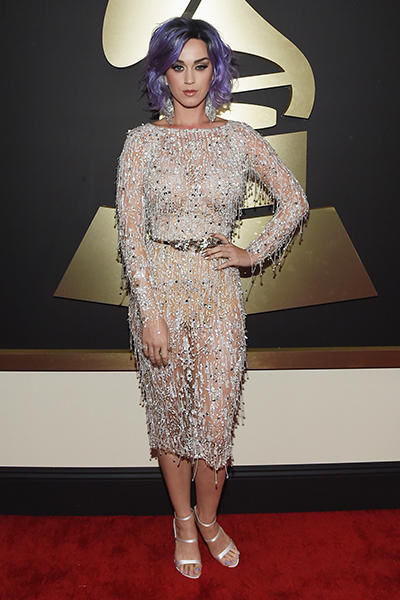 KATY PERRY NA GRAMMY AWARDS 2015