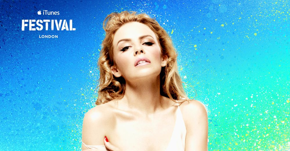 KYLIE MINOGUE - iTunes festival, LONDON 2014